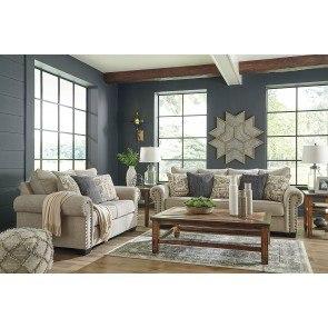 Gilmer Gunmetal Living Room Set By Signature Design By