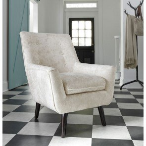 Laken Mocha Oversized Swivel Accent Chair By Signature