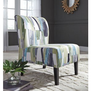 Barrel Back Accent Chair In White By Coaster Furniture