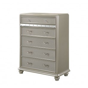 Willow Media Chest Distressed White By Progressive
