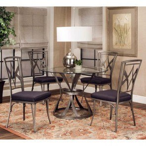 Slauson Dining Room Set With Beige Chairs By Coaster