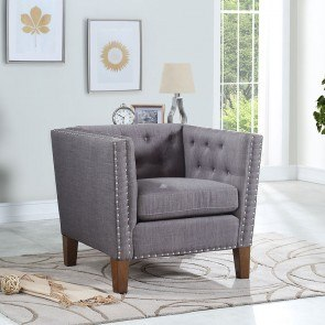Milari Linen Accent Chair By Signature Design By Ashley 2