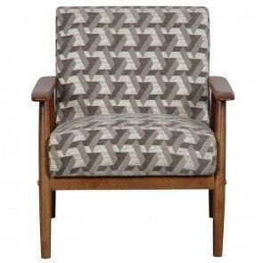 Leaf Pattern Accent Chair By Coaster Furniture Furniturepick