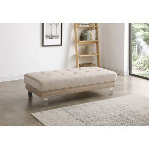Claremore Antique Ottoman By Signature Design By Ashley