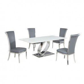 Chimerin Counter Height Dining Room Set Signature Design
