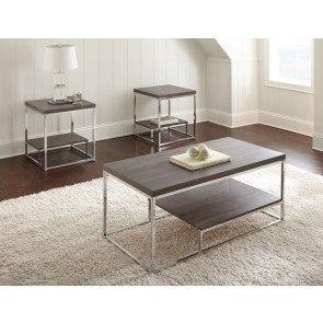 Ledgestone Mocha Reclining Living Room Set W Power By