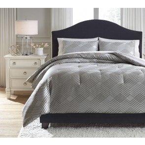 8496ad484c3a Anjelita Pewter Comforter Set