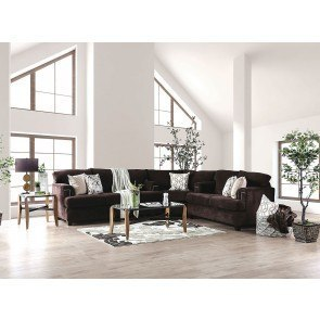 Cladio Hickory Right Chaise Sectional Benchcraft
