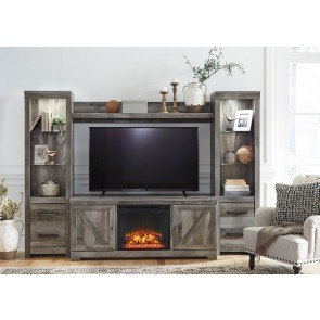 Storehouse Fireplace Entertainment Wall By Legends