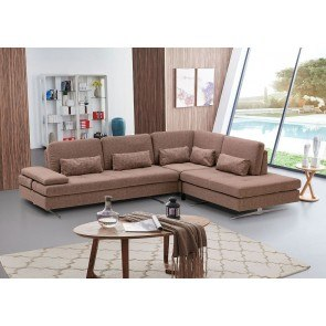Alliston Durablend Salsa Sectional W Left Chaise By