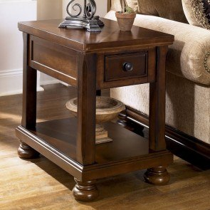 Superbe Porter Chairside End Table