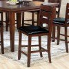 Urbana Counter Height Chair (Cherry) (Set of 2)