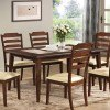 Baker Dining Table by Coaster Furniture