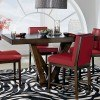 Couture Elegance Pedestal Counter Height Table by Standard Furniture