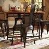 Amara Metal Side Chair (Rustic) (Set of 4)