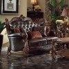 Versailles Loveseat (Dark Brown PU) by Acme Furniture