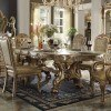 Dresden Dining Table (Gold Patina)