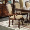 Chateau De Ville Arm Chair (Espresso) (Set of 2)