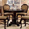 Chateau De Ville Counter Height Table (Espresso) by Acme Furniture