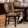 Chateau De Ville Counter Height Chair (Espresso) (Set of 2) by Acme Furniture
