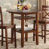 Tartys Counter Height Table (Cherry)