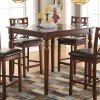 Weldon Counter Height Table by Acme Furniture