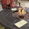 Burnella Round Fire Pit Table