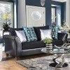 Kaelyn Sofa (Black) by Furniture of America