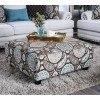 Amani Ottoman by Furniture of America