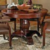 Tournament Game Table w/ Brown Top by Steve Silver Furniture