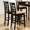 Mix and Match Wheat Back 24 inch Barstool (Cappuccino) (Set of 2)