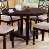 Maude Round Dining Table by Coaster Furniture