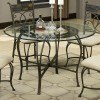 12083 Series Metal Dining Table