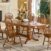 Chestnut Double Pedestal Dining Table