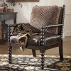 Key Town - Truffle Showood Accent Chair by Millennium