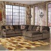 Truscotti - Cafe Right Chaise Sectional w/ Armless Loveseat by Signature Design by Ashley