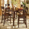 Barrister 5-Piece Counter Height Dinette