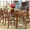 Cross Island Rectangular Extension Table by Signature Design by Ashley