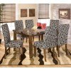 Lacey Dining Room Set with Onyx Chairs