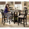 Bachmon Counter Height Dining Room Set