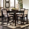 Martini Suite Counter Height Table w/ Lazy Susan