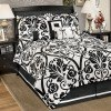 Beauville - Ebony 7-Piece Bedding Set