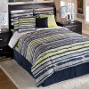Phoenix Stripe Bedding Set