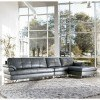 Gunter Thunder Large Sectional w/ Right Chaise by Signature Design by Ashley