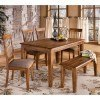 Berringer Dining Room Set with Bench
