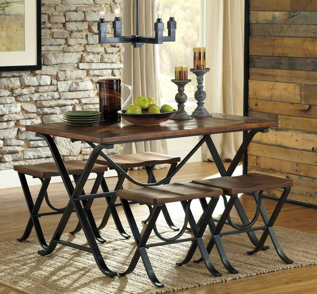Dining Room Sets 5 Piece: Freimore 5-Piece Dining Room Set By Signature Design By