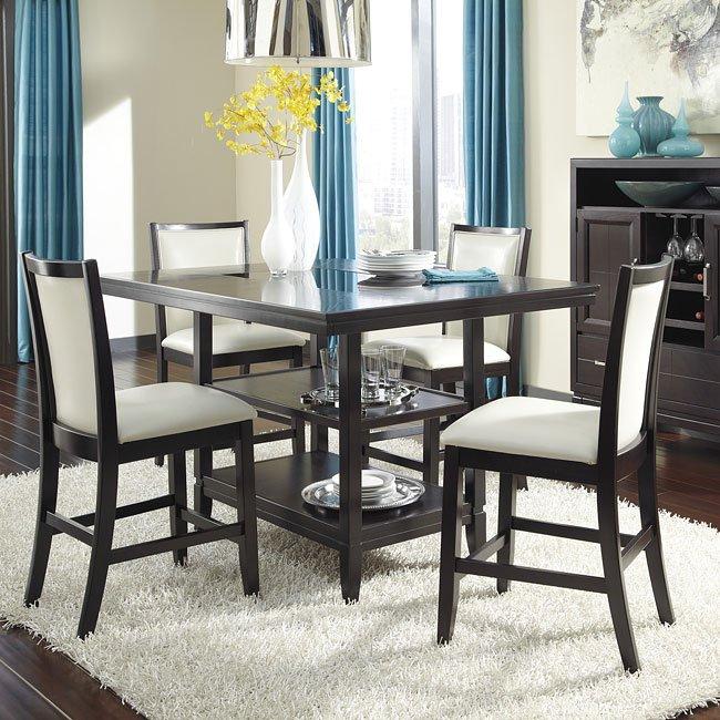 Trishelle Counter Height Dining Room Set Signature Design