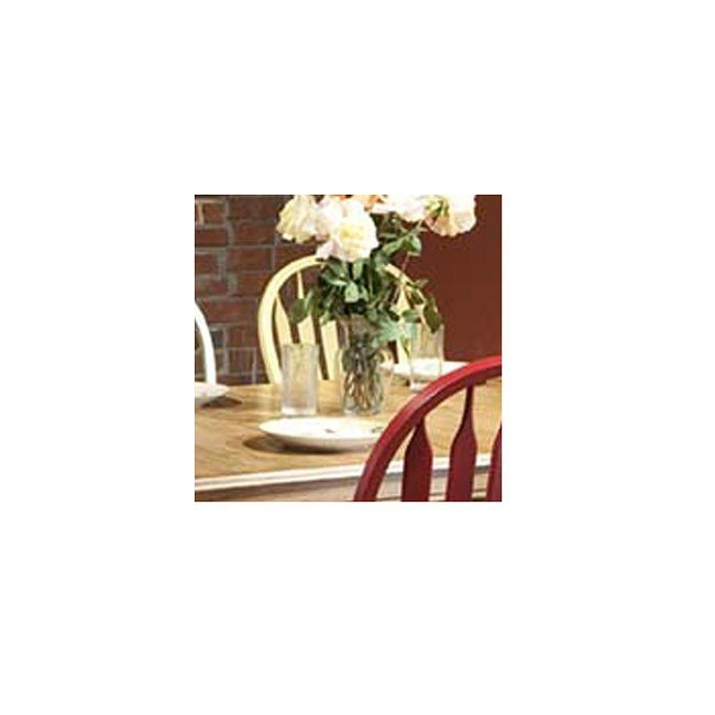 Missouri Round Dining Table Black Rustic Oak Eci: Missouri Round Dining Room Set W/ Chair Color Choices By