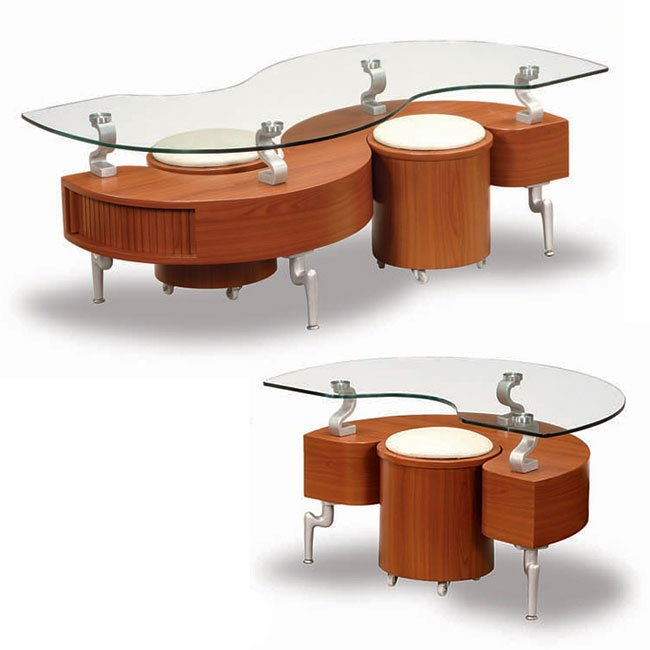 288 Cherry Occasional Table Set