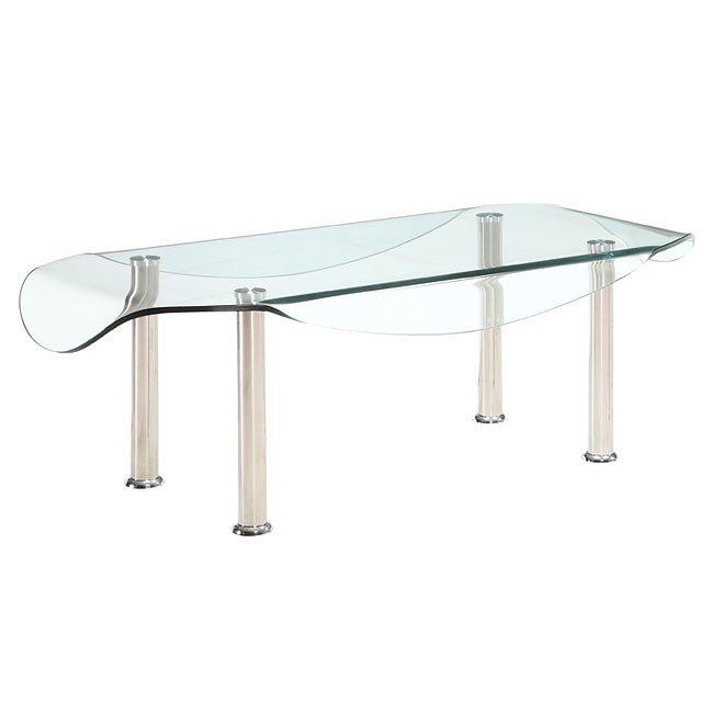 Cb020 Modern Gl Occasional Table Set